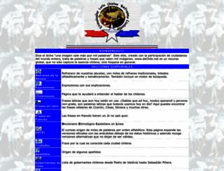 dechile.net screenshot