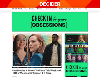 decider.com screenshot