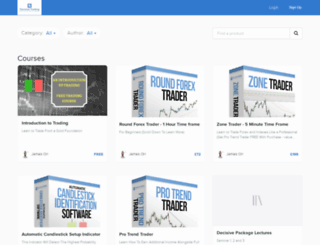decisivetrading.usefedora.com screenshot