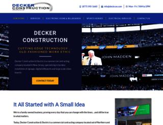 deckcon.com screenshot