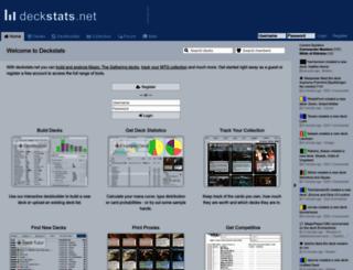 deckstats.net screenshot
