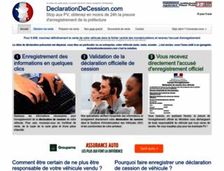 declarationdecession.com screenshot
