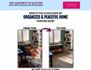 declutteringmadeeasy.com screenshot