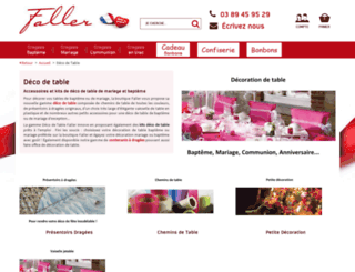 deco-table.faller.fr screenshot