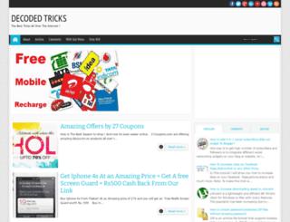 decodedtricks.blogspot.in screenshot