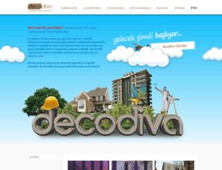 decodiva.com.tr screenshot