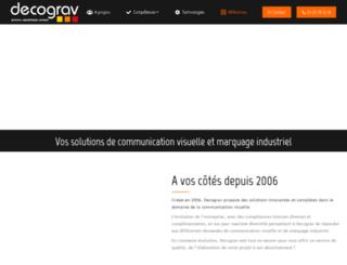 decograv.com screenshot