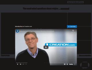 deconstructingdarwin.com screenshot
