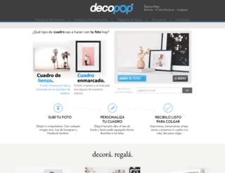 decopop.com.ar screenshot