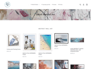 decor-abstract-art.myshopify.com screenshot