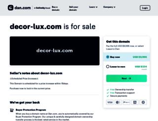 decor-lux.com screenshot