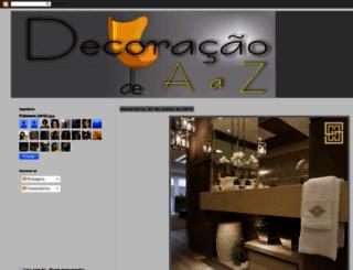 decoracaodeaaz.blogspot.com screenshot