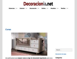 decoracionia.com screenshot