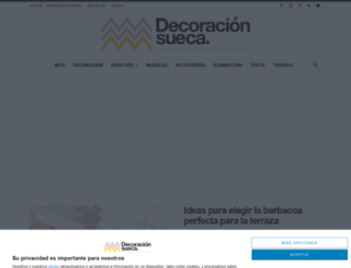 decoracionsueca.com screenshot