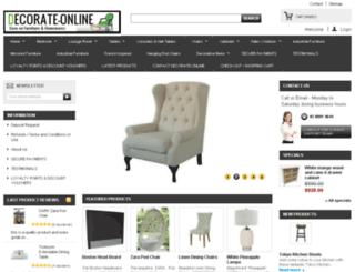 decorate-online.com.au screenshot