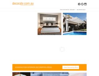 decorate.com.au screenshot