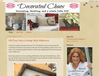 decoratedchaos.blogspot.com screenshot