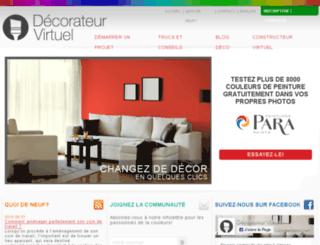 decorateurvirtuel.com screenshot