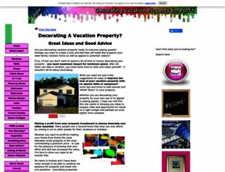 decorating-vacation-property-for-profit.com screenshot