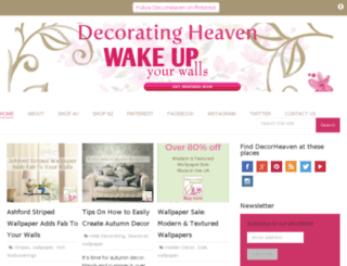 decoratingheaven.com.au screenshot