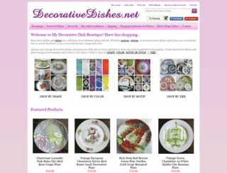 decorativedishes.net screenshot