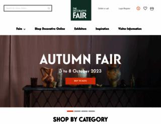 decorativefair.com screenshot