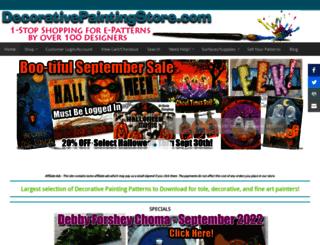 decorativepaintingstore.com screenshot
