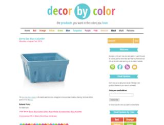 decorbycolor.com screenshot
