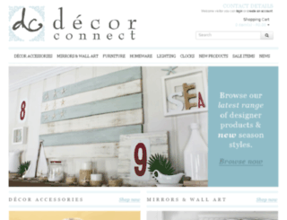 decorconnect.co.za screenshot