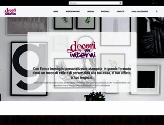 decoriperinterni.it screenshot