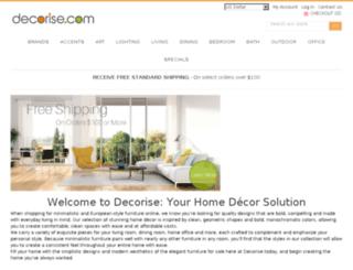 decorise.com screenshot