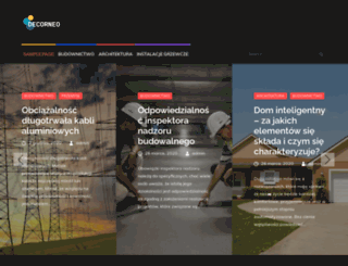 decorneo.pl screenshot