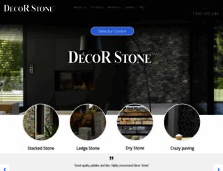 decorstone.com.au screenshot