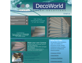 decoworld.co.za screenshot