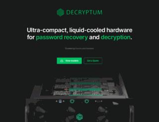 decryptum.com screenshot