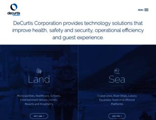 decurtis.com screenshot