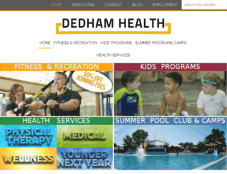 dedhamrwd.phantomclubs.com screenshot