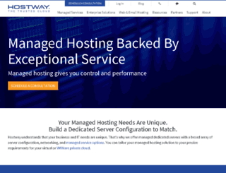 dedicatedcentral.com screenshot