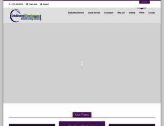 dedicatedhosting4u.com screenshot