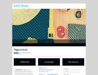 dedmodas.com.br screenshot