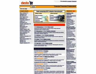dedo.pl screenshot