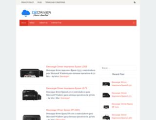 dedriver.com screenshot