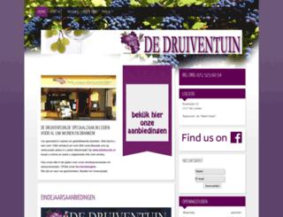 dedruiventuin.nl screenshot