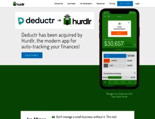 deductr.com screenshot