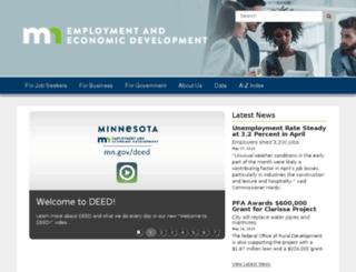 deed.state.mn.us screenshot