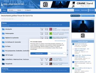 deejayforum.de screenshot