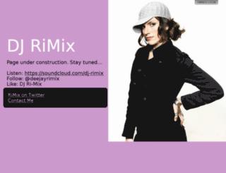 deejayrimix.com screenshot