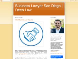 deen-law.blogspot.com screenshot