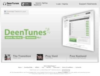 deentunes.com screenshot
