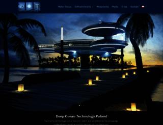 deep-ocean-technology.com screenshot